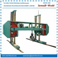 log cutting band saw,woodworking band sawmill,log band saw