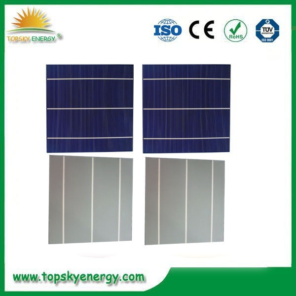 156*156mm Size and Polycrystalline Silicon / Monocrystalline Silicon Material best solar cell price
