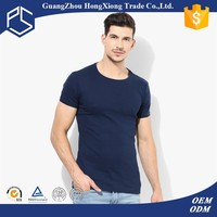 Plain round neck bodybuilding ultra thin lot sales fiftted man t-shirts