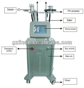 cavitation vacuum slimming machine rf slimming ultra cavitation machine