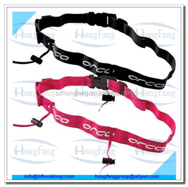 Different colors tri belt for running race