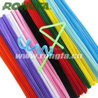 6mm thickness tinsel craft chenille stem pipe cleaners