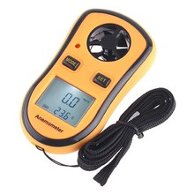 Digital Anemometer High Quality Mini Digital Anemometer with High Precision Pressure Sensor LED Wind Speed Measuring Instruments