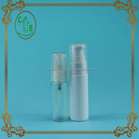 HOT cosmetic plastic bottle, Cosmetic clear plastic lotion bottles with pump with pump dispenser