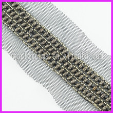 Wholesale Crocheted Garment Trimming Beaded Trim Lace Types For Neckline WTA137