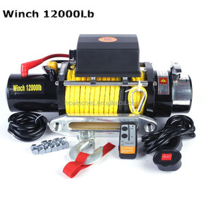 12000Lb Winch fits Toyota Land cruiser pickup 4wd
