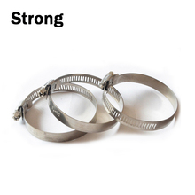 stainless steel 201 pipe alignment clamp german type hose clamps