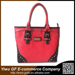 Women Large Handbag PU Leather Bag Manufacturers Yiwu Bag Shopping Travelling Big Capacity Mummy Bag