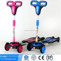 2016 Fun Toys Cheap 4 Wheel Kids Kick Mini Scooter 3 Wheel Cheap Kids Scooter newest design frog Scooters