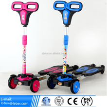 2016 Fun Toys Cheap 4 Wheel Kids Kick Mini Scooter 3 Wheel Cheap Kids Scooter newest design frog Scooters