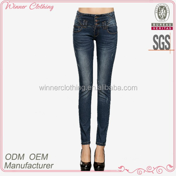 china factory women's clothing daily/casual cotton spandex low waist cheap skinny jeans wholesale china