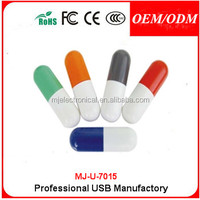 Cheap Plastic Pill Shape Usb Memory Stick,Custom logo Usb Pill style Usb Pen Drive pharmaceutical promotions