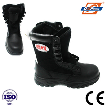SBP import leather safety boots for rescue and police