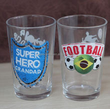 7.5oz Small Cheap Drinking Glass For Promotion