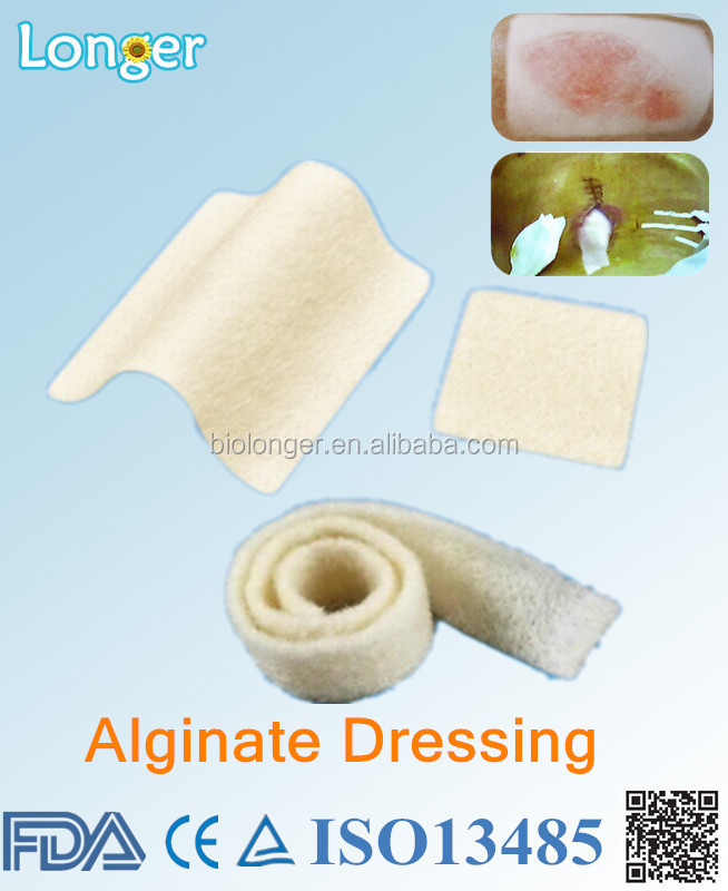 alginate dressing with bag