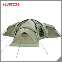 3 room 10 person extra large family camping tent for outdoor
