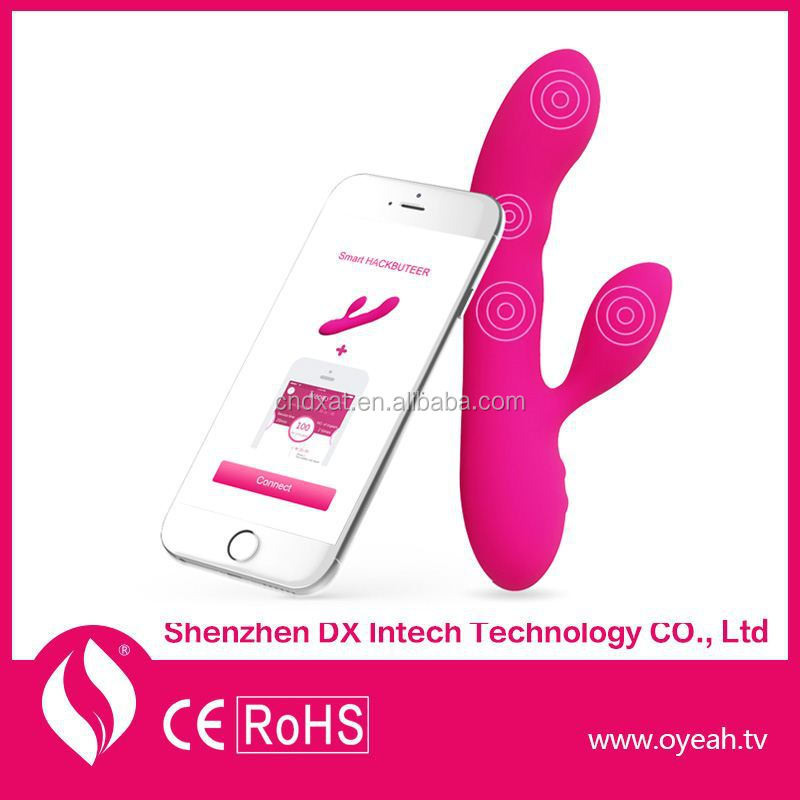 Bluetooth 4.0 Android/Ios App Rabbit Dildo WiFi Free Shipping Rabbit Vibes Vibrator Sex Video Sex Photos Flash Light Sex Toy