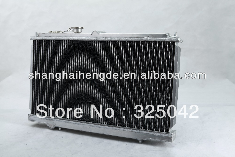 Special price radiator For TOYOTA Skyline GTR R34 Radiator 52mm 3row radiation monitoring system