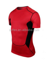 New Mens Compression Sport Gear Crewneck Athletic Shirt Tops