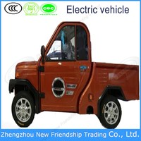 China cheap mini pickup electric trucks