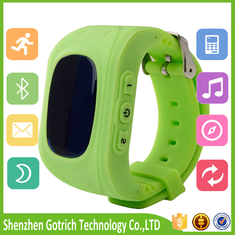 Newest kids GPS tracker security smart watch with <strong>GSM</strong>+LBS positioning for SOS and safety