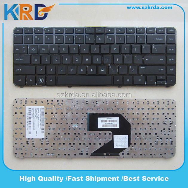 Notebook keyboard for HP G4-2000 G4-2100 G4-2300 US keyboard Black with frame