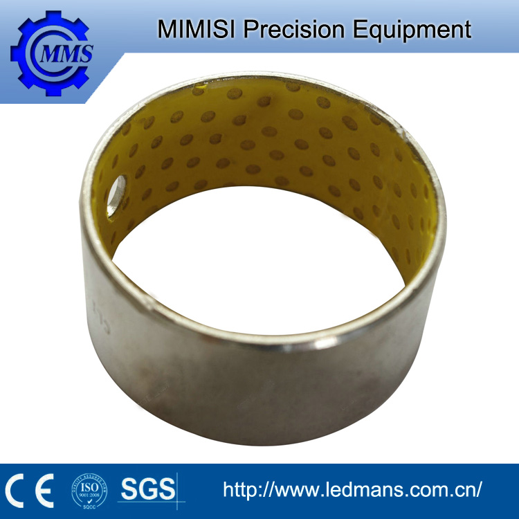 MMS Bearing Steel/Copper Backing Bronze Guide Bush Bronze Alloy Bimetal Bushing