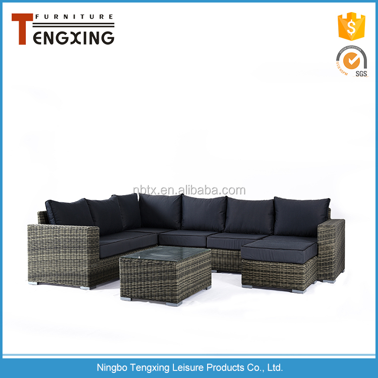 Home casual modern rattan wicker modern rattan outdoor furniture