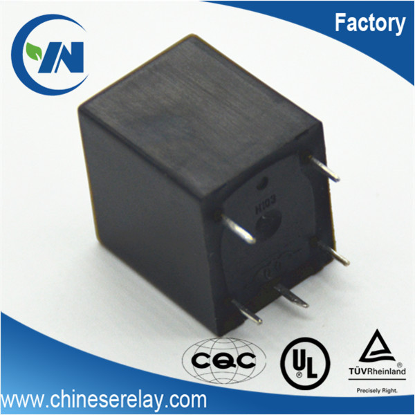 CQC 10A 250VAC 30VDC UL 15A 125VAC TUV 10A 240VAC 0.36w 0.45w 12v SPDT relay 5 pin relay shredder relay for household appliance