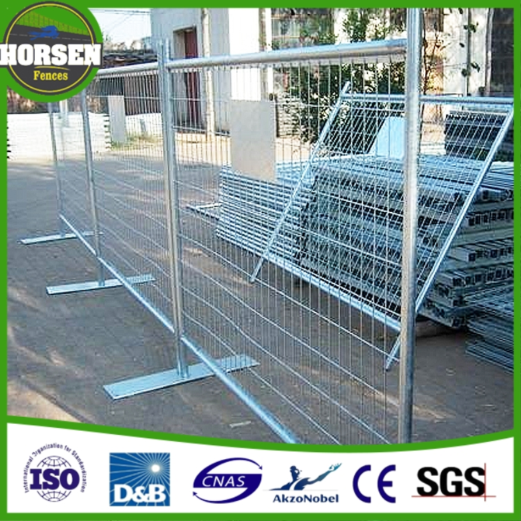 Security powder coated wrought iron pool fence temporary swimming pool fence