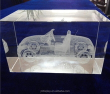 3D Inner People Acrylic Display, Inside Laser Picture Of Acrylic Decoration,Inner Laser Acrylic Craft,