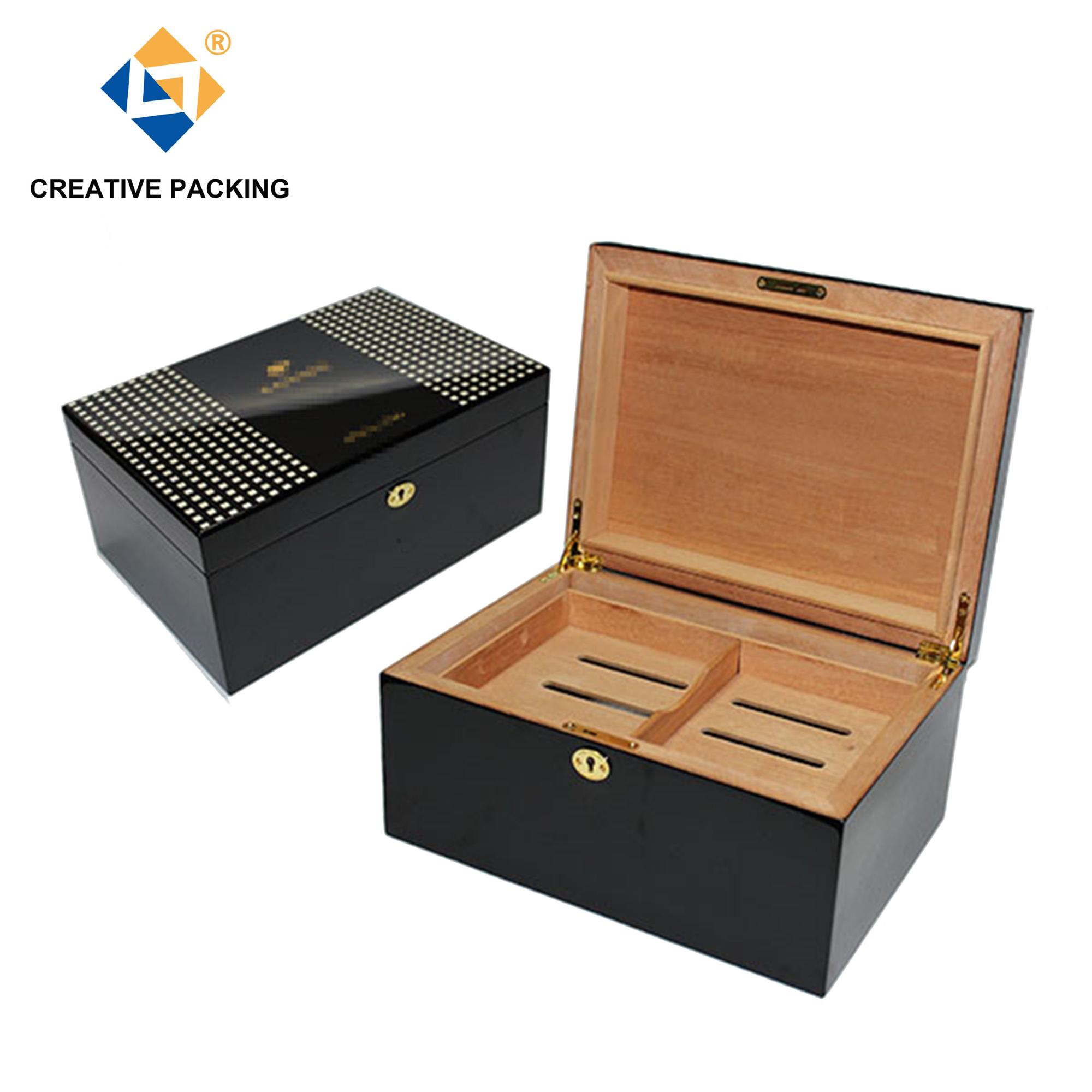 Luxury Wooden Cigar Cuban Cohiba Humidor