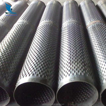 MS round slotted pipe hollow section steel pipe