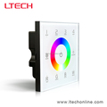 wall mounted DXM touch panel RGBW controller, touch panel rgbw DMX controller