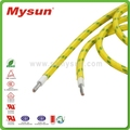 Silicone rubber cable 0.5mm electric wire UL3122 with UL certificate