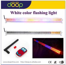 2014&2015 288W RGB led flashing red yellow blue light bar,colorful light bar