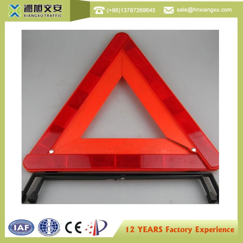 china wholesale Emergency Car Triangle Sign LED Warning Triangle