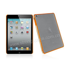Orange waterproof hard case for iPad mini