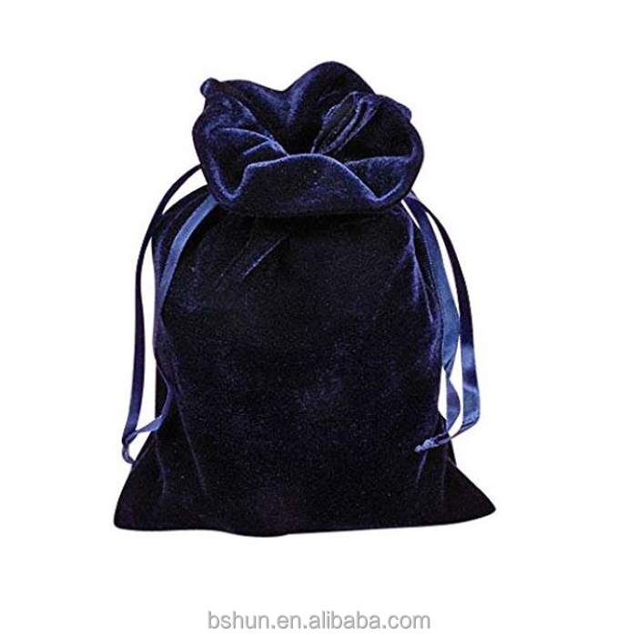 Luxurious Velvet Gift Bag, Navy Blue, Hunter Green, Purple