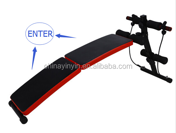 Hot sale fitness equipment commercial exercise sit up bench for body