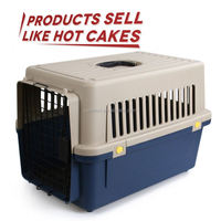 Skilful manufacture cheap dog cage abs pan with grill