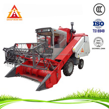 from China mini soybean combine harvester used in Asia
