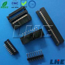 1.27MM 2.0MM 2.54mm pitch IDC Socket connector