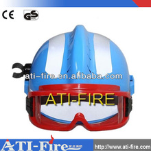 Plastic Fireman Safety Protect Emergency Rescue Fire Helmet