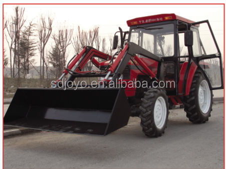 cabin tractor front loader