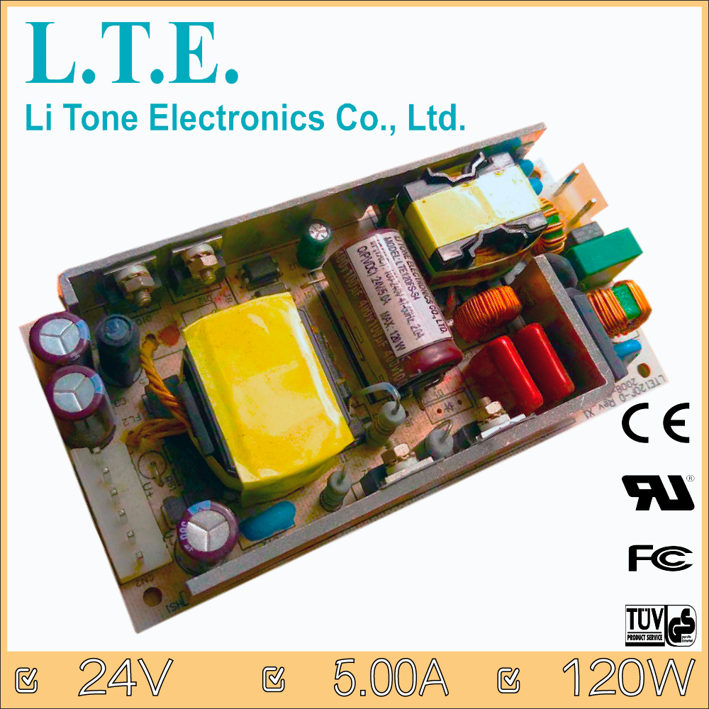 LTE120FS-S4 AC to DC Open Frame 24v Switching Power Supply
