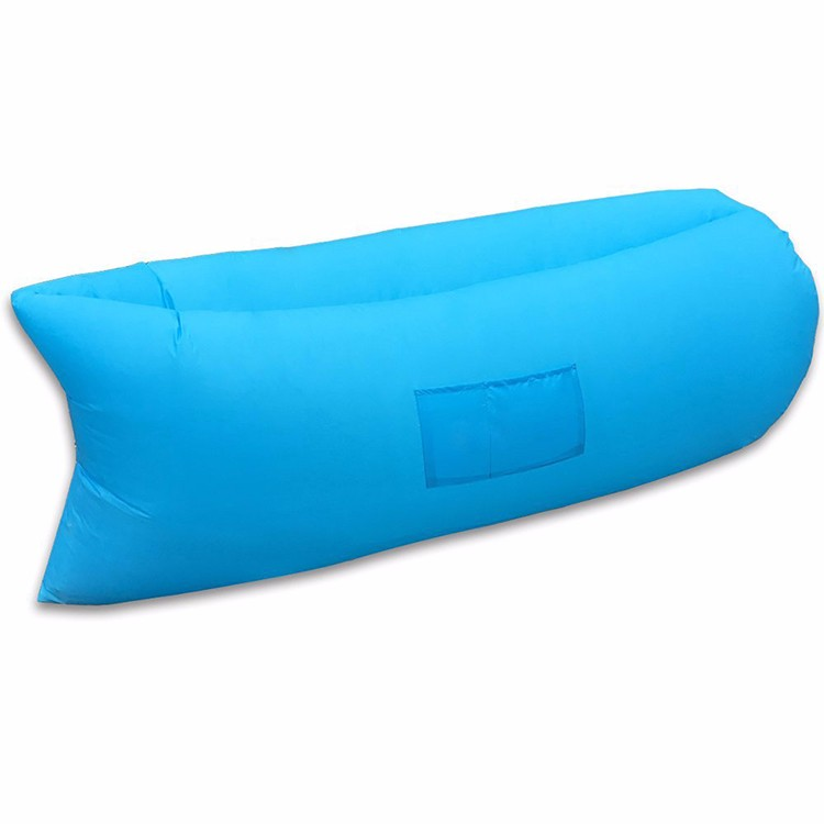 Billboard inflatable outdoor lounger hangout air bag