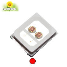 Taiwan Epistar led chip 0.5w far red smd 2835 led diode