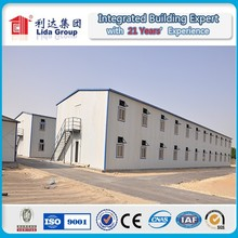 Russia sandwich panel labor camp accommodation/ prefab house for sale