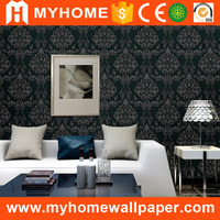 Iran Nigeria Hot Sale Floral PVC Wallpaper Wholesale Cheap Factory Price Fashion Flower Wall Wallpaper for Home Decoration